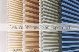 Sizing Blinds What Cell Size Do I Need Cellular Shade Sizes Explained The