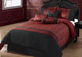bedding set thrilling bedding sets red and black cool red