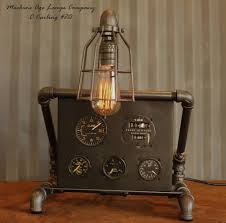 steampunk lamps steampunk lamps handmade by the steampunk