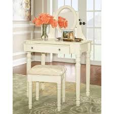 bedroom vanitys lorraine bedroom vanity set in white 58010wht 01 kd u the home depot