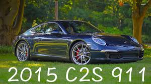 porsche 911 reviews 2015 porsche 991 911 s detailed review