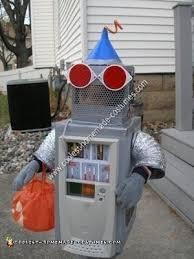 coolest homemade robot halloween costume idea