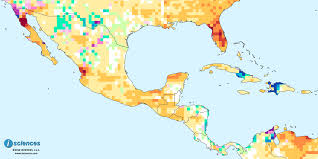 Nayarit Mexico Map by Mexico Central America U0026 The Caribbean Water Deficits In Baja