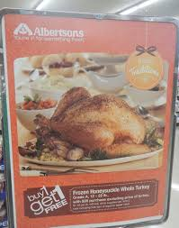 my albertsons thanksgiving shopping trip 46 saved b1g1 turkeys