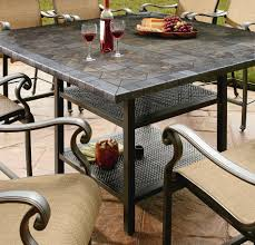 Agio 7 Piece Patio Dining Set - high dining patio set