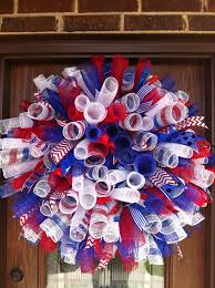 4th of july wreaths my 4th of july wreath mesh