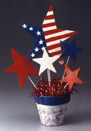 Homemade Table Centerpieces by Best 25 Patriotic Decorations Ideas On Pinterest Fourth Of July