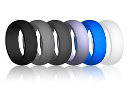 best quality flex fit silicone rubber wedding band ring