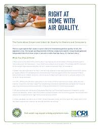 the carpet and rug institute blog need to know indoor air