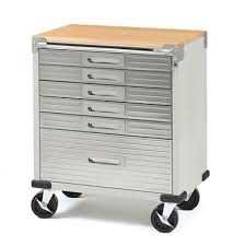 rolling tool storage cabinets seville classics ultrahd rolling 6 drawer tool storage cabinet with