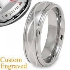 mens infinity wedding band infinity laser men s titanium wedding bands ring size 3 18