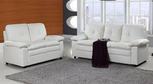 White Leather Living Room Set Living Room Sets Living Room Furniture Sofamania