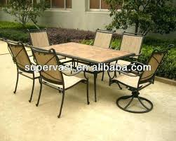 Mosaic Patio Table And Chairs Tile Top Patio Table Ceramic Tile Coffee Table Outdoor Pit