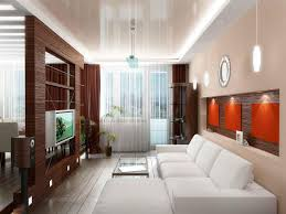 Flat House Design Contemporary Small House Modern Interior Design With Tv On The
