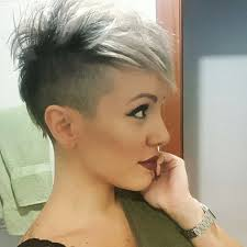 funky hairstyle for silver hair 14 best hairs images on pinterest hair ideas hair make up and