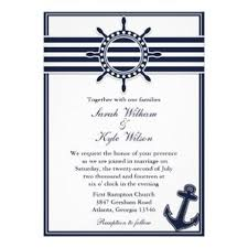 nautical wedding invitations custom wedding invitations