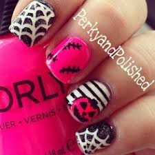 50 spooky halloween nail art designs nail art designs nail art