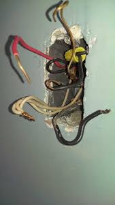 red wire in light switch box neutral wire wiring diagram components
