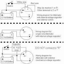 dodge dakota wiring diagram internal regulator alternator