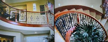Iron Banister Rails Iron Stair Rails Las Vegas Wrought Iron Stair Railing Las Vegas