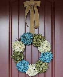 hydrangea wreath hydrangea wreath for front door make it in 5 minutes the