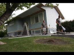 Exterior Paint For Aluminum Siding - painting exterior aluminum siding youtube
