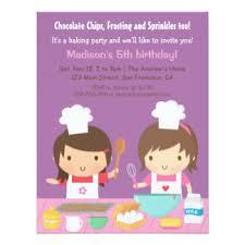 chef invitations u0026 announcements zazzle