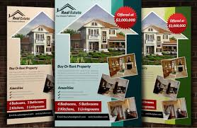 real estate flyers templates free 10 professional real estate agent brochure templates free download