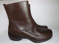 womens size 12 casual boots think denk ankle boots womens size 12 leather black zip up