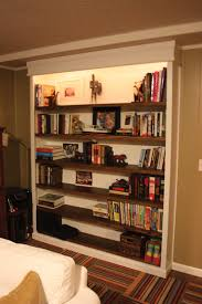 Built In Bookcase Designs Building A Built In Bookcase Extreme How To