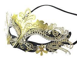 black and gold mardi gras coxeer laser cut metal masquerade mardi