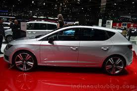 seat leon cupra 280 side geneva live indian autos blog