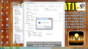 cara reset printer canon mp258 error e13 reset canon mp258 by canon service tool v4905 youtube