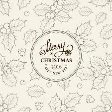 Christmas Card Invitation Templates Free Christmas Card With Text Mistletoe Holiday Vintage Label Card