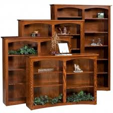 Shaker Bookcase Amish Specialty Bookcases Solid Wood Construction In Specialty Style