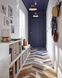 Blue Entryway Table by