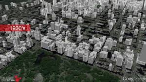 Midtown Manhattan Map Midtown Manhattan Growth Animation Youtube