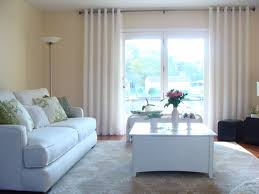 white living room drapes and curtains enhance your house