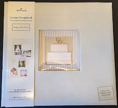 Scrapbook Wedding Album New Ivory Hallmark Instant Scrapbook Wedding Album Happily Ever