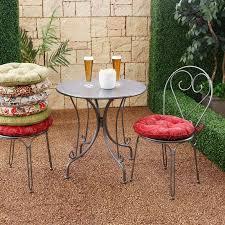 outdoor round bistro cushions u2014 bistrodre porch and landscape ideas