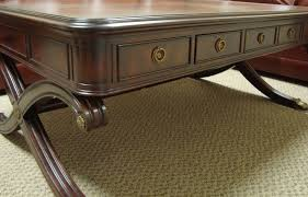 Henredon Coffee Table by Henredon Cocktail Table Natchez Collection Clink Furniture