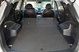 hyundai tucson trunk space 2013 hyundai tucson reviews and rating motor trend