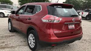 red nissan rogue used one owner 2016 nissan rogue sv chicago il western ave nissan