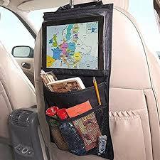 tablette de voyage pour siege auto sacs à dos pour siège auto woopower organiseur de siège pour