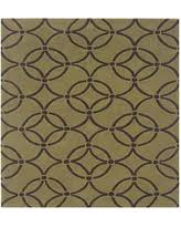 linon home decor rugs amazing deal linon home decor trio 5 x7 green rug