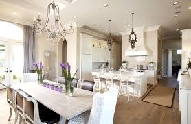 chic purple dining room with lilac silk curtains window panels