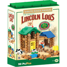 lincoln logs white river ranch building set walmart com
