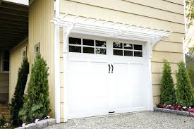 4 garage trellis with morning glory vinegarage door arbor kit