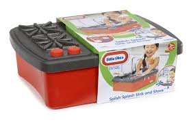 Kitchen Sink Amazon by Amazon Com Little Tikes Splish Splash Sink U0026 Stove Toys U0026 Games