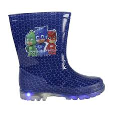 pj masks light up shoes pj masks pvc rain boots with led lights ebay